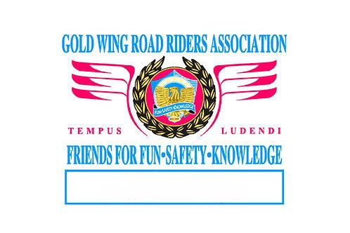 GWRRA, Motorcycle flag