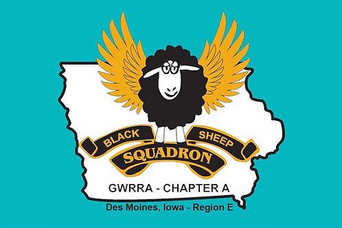 Iowa, Ch-A Motorcyle  Flag
