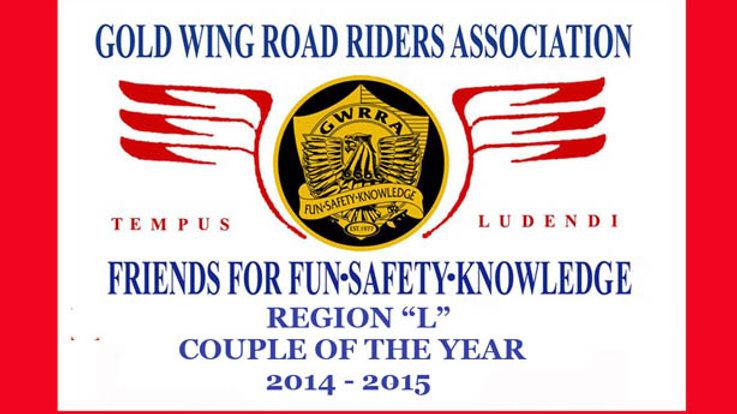Region L COY, Motorcycle flag