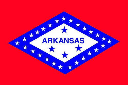 Arkansas Motorcycle flag