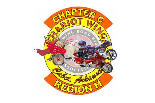 Arizona, CH-C  Motorcyle  Flag