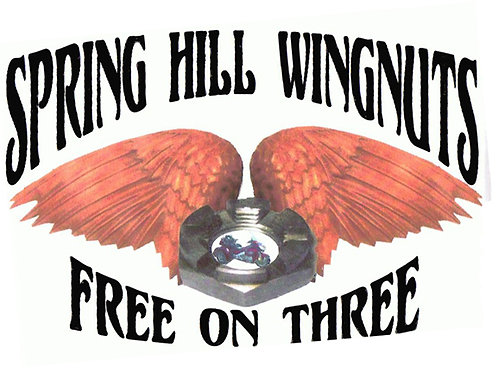 Wing Nuts  Motorcyle  Flag