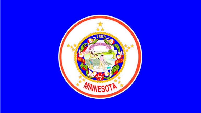 Minnesota Motorcycle flag