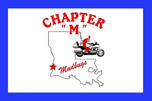 Louisiana, Ch-M Motorcyle  Flag