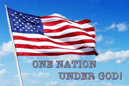 One Nation, Under God!