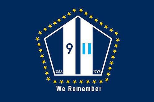 9-11 National Flag