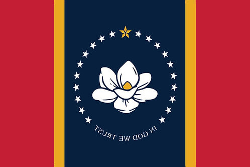 Mississippi Motorcycle flag