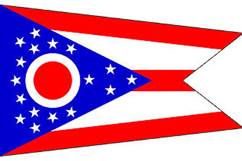 Ohio Motorcycle flag