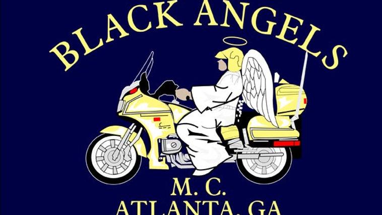 Black Angels Motorcyle Flag