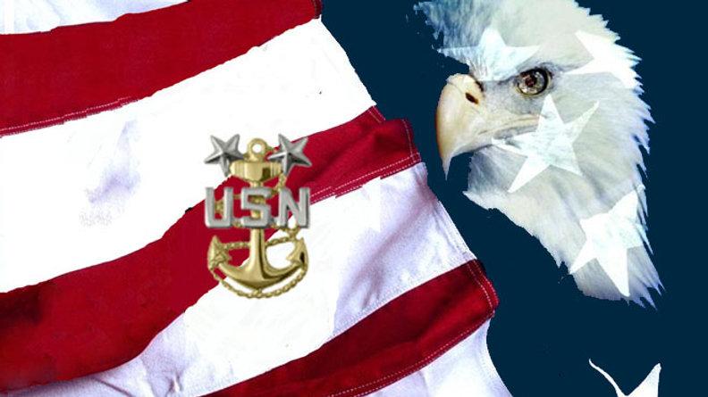 US Navy E8 SCPO
