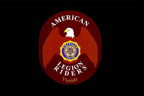 American Legion Riders Motorcycle Flag