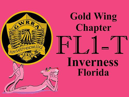 Florida, Ch-FL1-T  Motorcyle  Flag