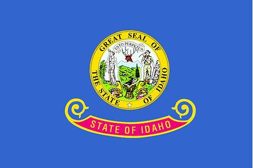 Idaho Motorcycle flag