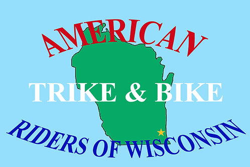 American Trike And Bikes Motorcyle Flag