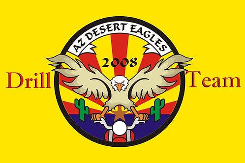 Arizona Drill Team Motorcyle Flag