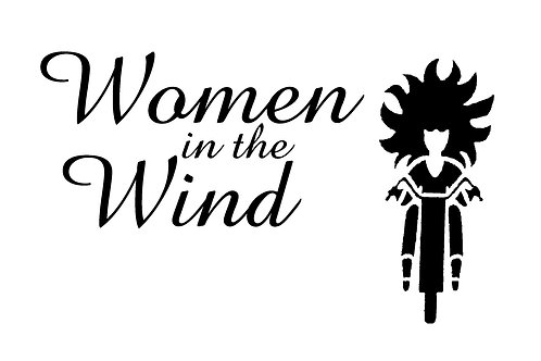 Women In The Wind  Motorcyle  Flag