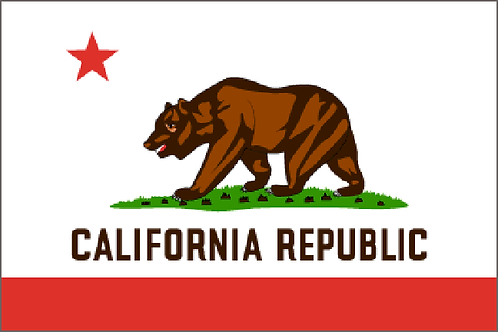 California Motorcycle flag