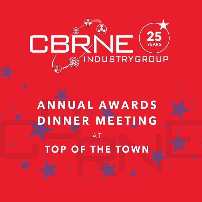 CBRNE Industry Group Annual Awards Dinner