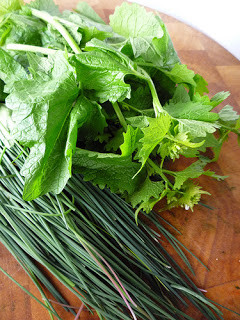 Wild Herbs three ways recipes