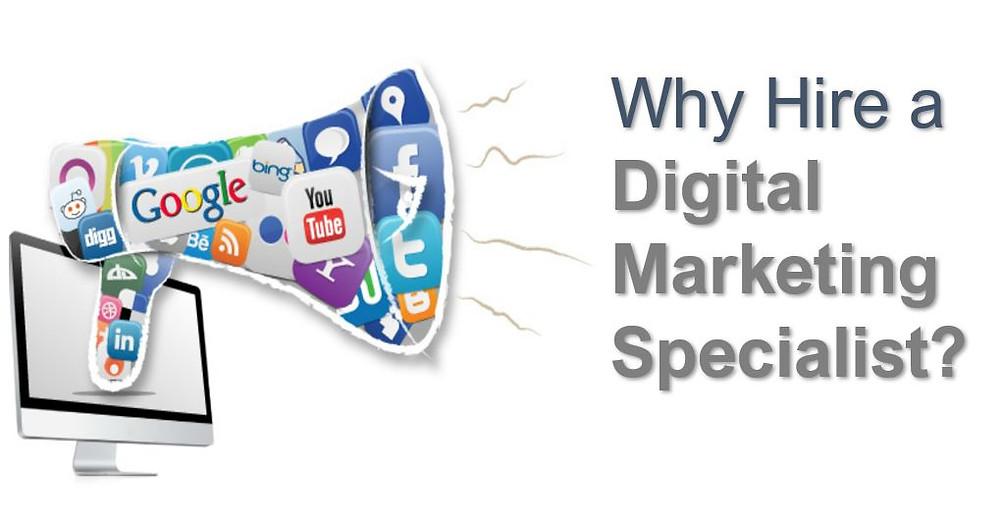 Why hire a digital marketing specialist?