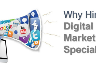 Why Hire a Digital Marketing Specialist?