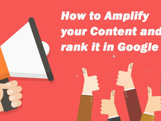 Strategy and tactics to amplify and rank your content with better content promotion, syndication and