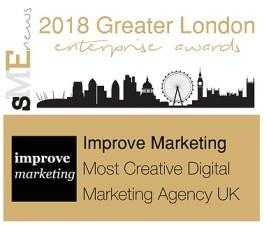 Improve Marketing Winner most Creative Digital Marketing Agency