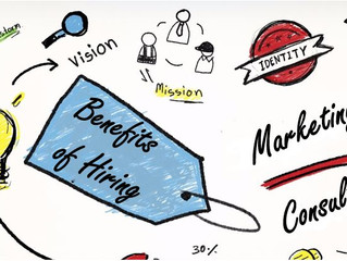 Why Hire a Marketing Consultant? We talk about the benefits and what to expect from hiring a Marketi