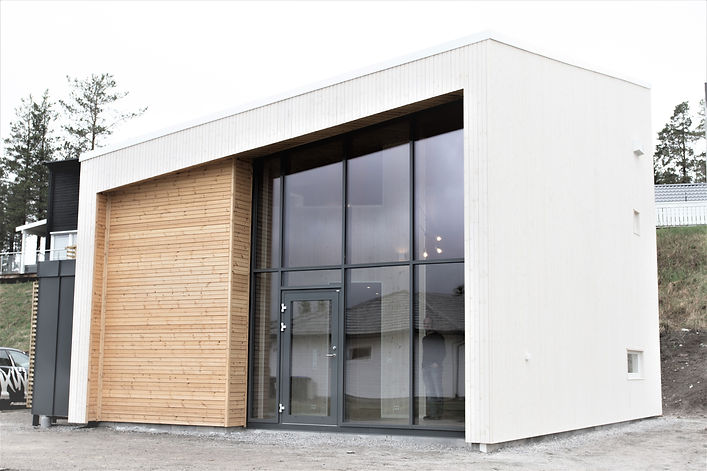 Minihus / Mikrohus, en kompakt enebolig | | Arkplan Arkitektkontor