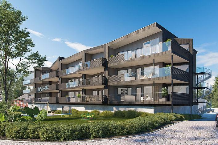 Moderne flermannsbolig i Skogn | Arkplan Arkitektkontor