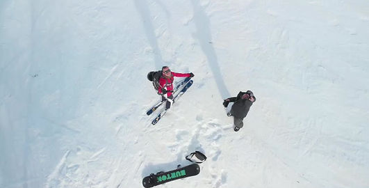 Video - Ski - drone - Mavic-air