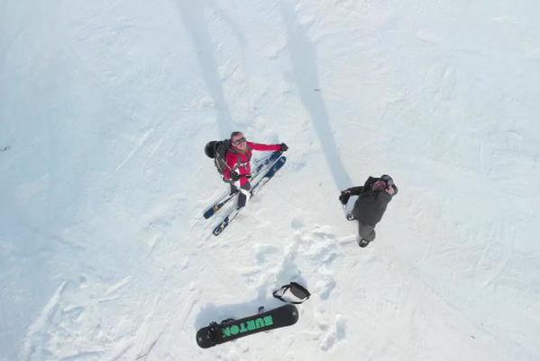 Video - Ski - drone - Mavic-air