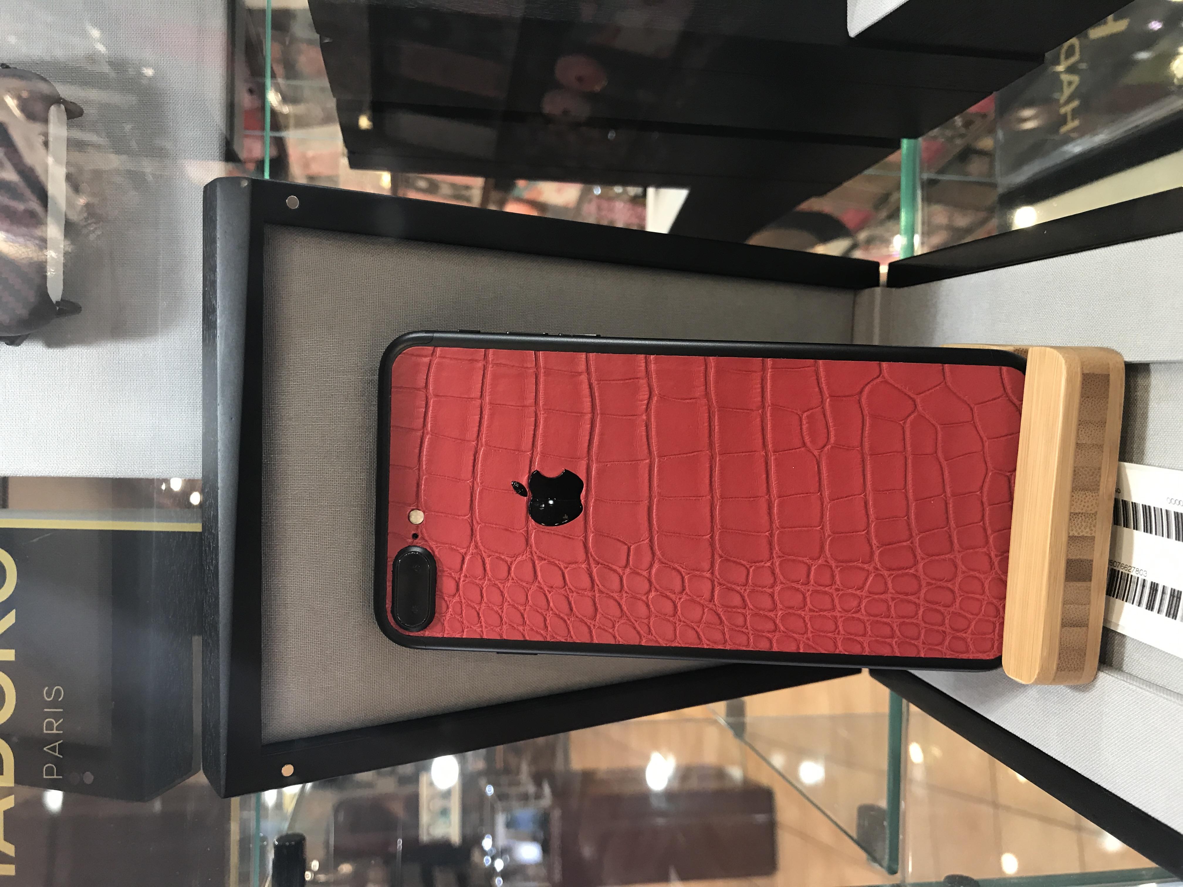 Red iPhone Alligator