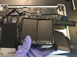 Remplacement Batterie Macbook