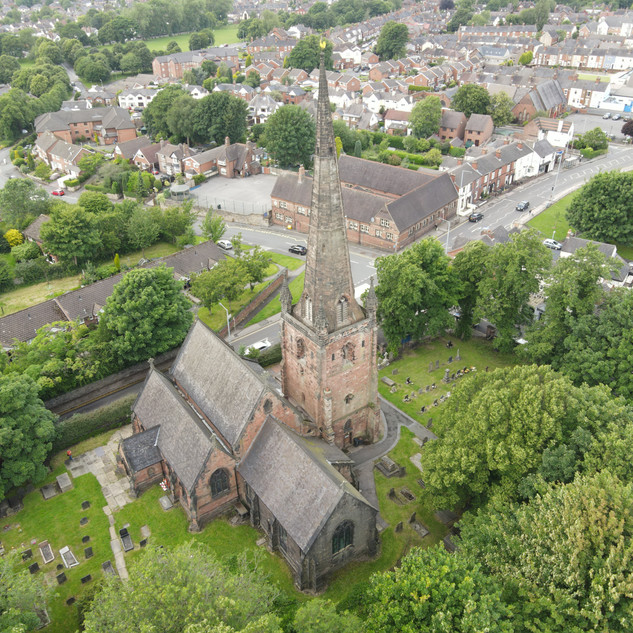 St. Margaret's Parish Church, Wolstanton. Newcastle under Lyme