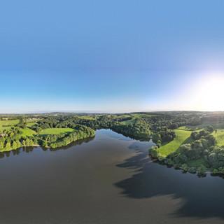 Knypersley Reservoir Pano