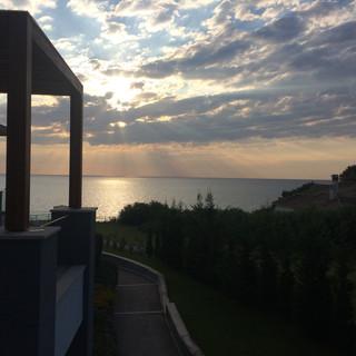 Setting Sun. Greece
