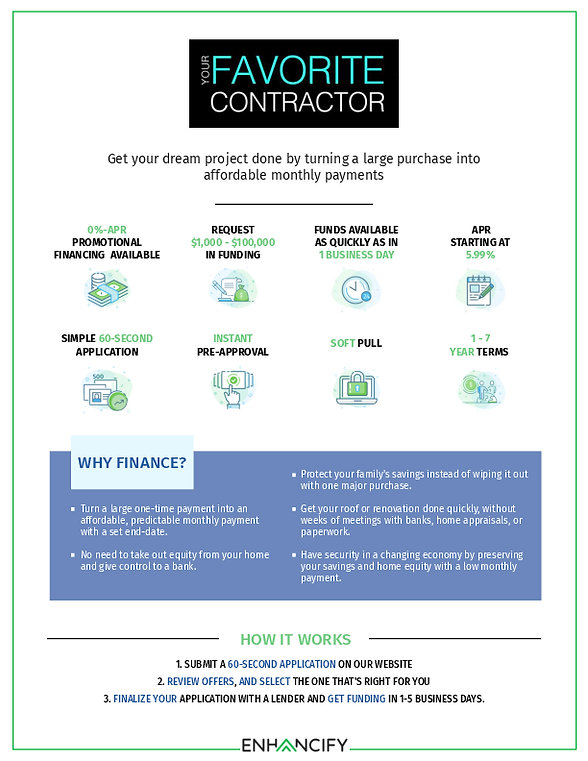 Enhancify Your Favorite Contractor INC.(