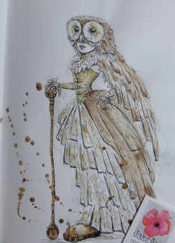 Steampunk Owl Princess