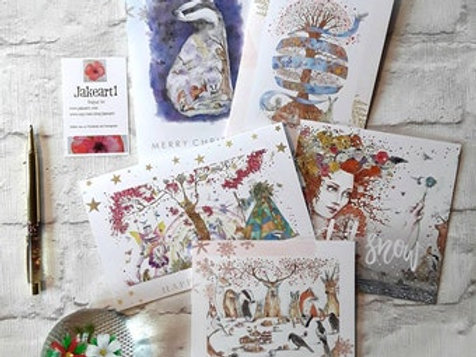 Pack of 5 Christmas Cards