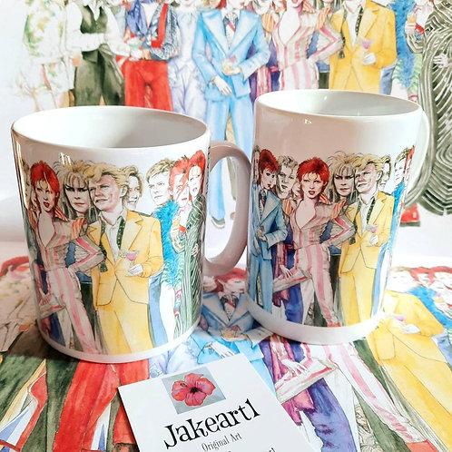 Bowie Mugs