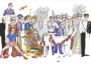 A party of Elton John