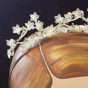 Handmade bridal tiara