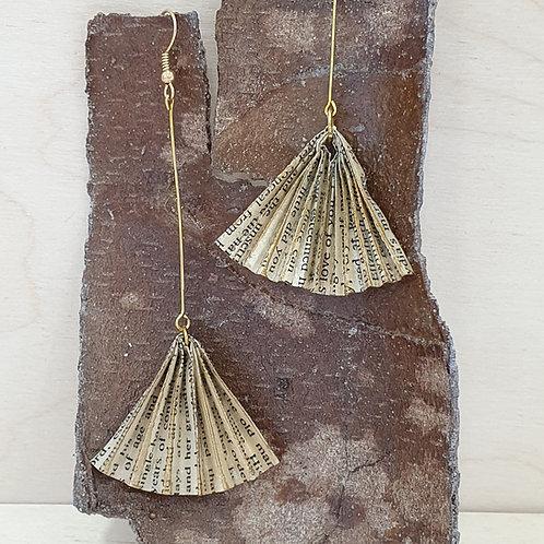 Great Gatsby long drop earrings