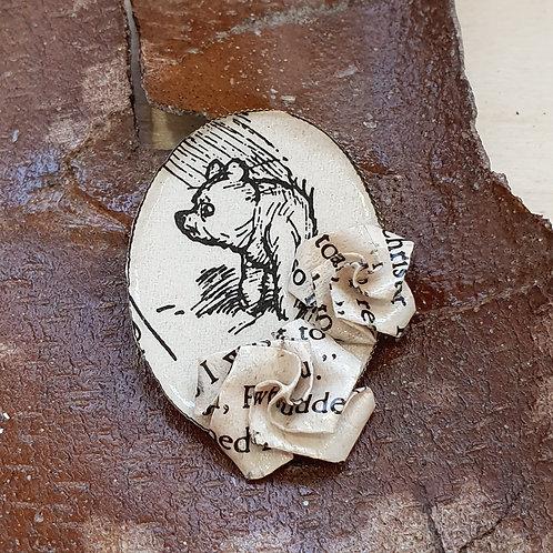Winnie the Pooh brooch pin