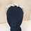 Thumbnail: Vintage sheet music rose  crown for eco-friendly bride,