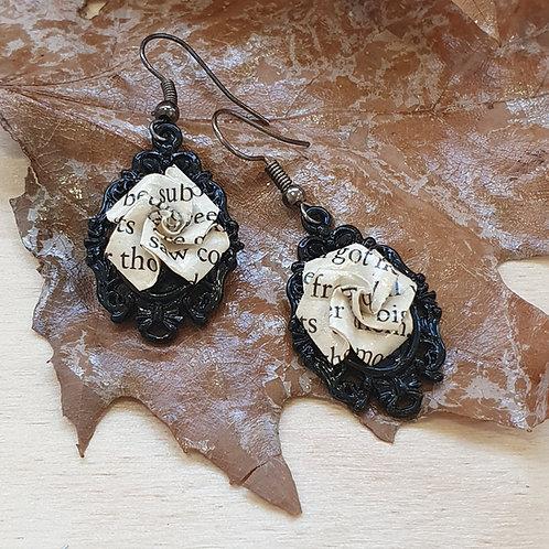 Dracula drop earrings