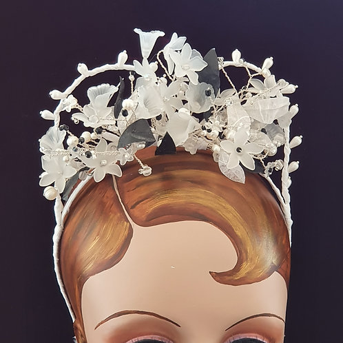 Vintage style bridal tiara, 1920s 30s 40s style