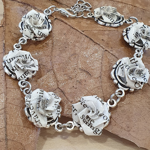 Women writers rose bracelet