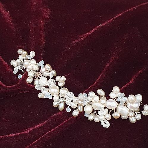 Bespoke bridal hair vine
